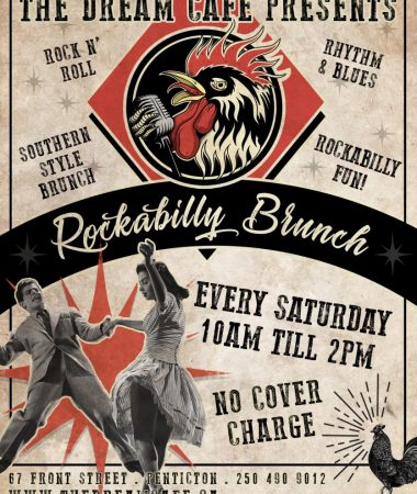 Rockabilly Brunch - The Dream Cafe Every Saturday